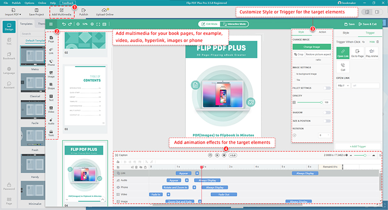 Flip PDF Plus Pro for Mac